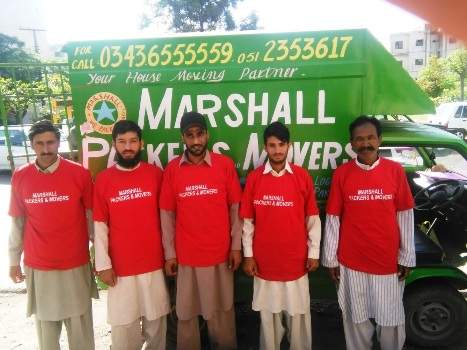 Marshall Packers & Movers in Pakistan