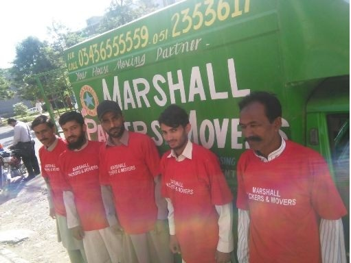 MARSHALL PACKERS & MOVERS IN ISLAMABAD LAHORE KARACHI